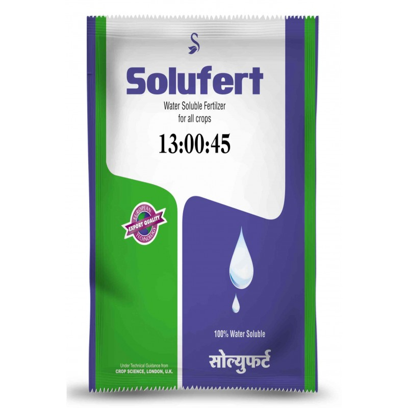 13-00-45 (Potassium Nitrate ) Water Soluble Fertiliser