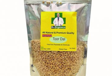 Dr Organic's Unpolished Tur_Arhar Dal