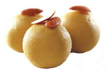 Besan Laddu Homemade